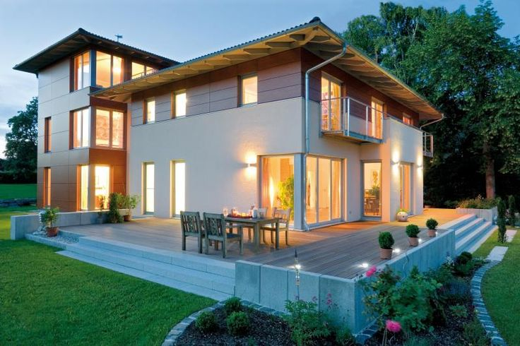 Case Prefabbricate Stile Francese : Casa in legno julia design haus italia case di ogni stile