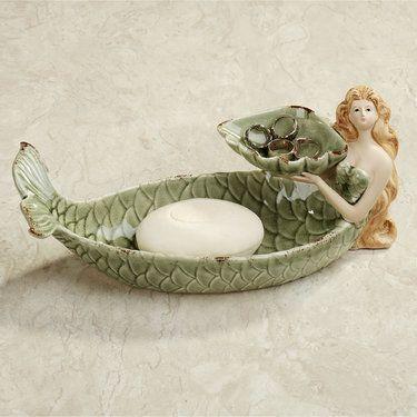 Auristella Mermaid Soap Dish Ring Holder