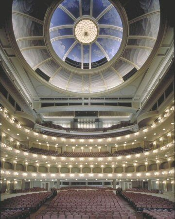 Fort Worth's Bass Hall on the inside!
