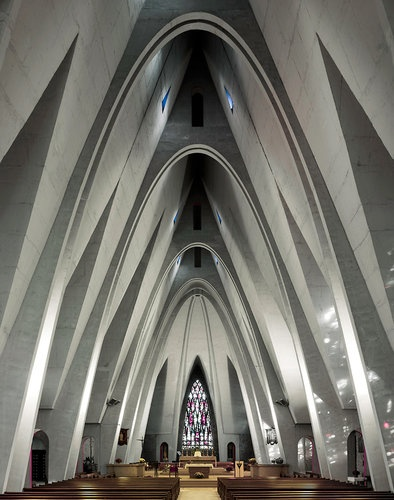 Brutal baroque an ode to midcentury modern churches for Modern baroque art