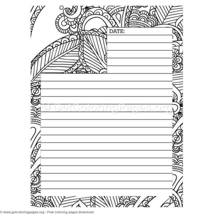 6 Journal Page Coloring Pages Getcoloringpages Org Coloring Coloringbook Coloringpages Coloringbooks Coloring Journal Coloring Pages Journal Pages