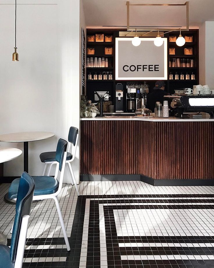 A modern diner in a beautifully designed space @nickelanddiner Photo by @stefankarlstrom #nyc #cafe #coffeeshop