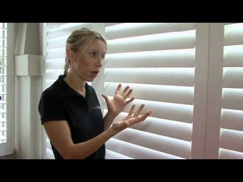 RFP TV TIP#13 PLANTATION SHUTTERS by Cherie Barber - YouTube