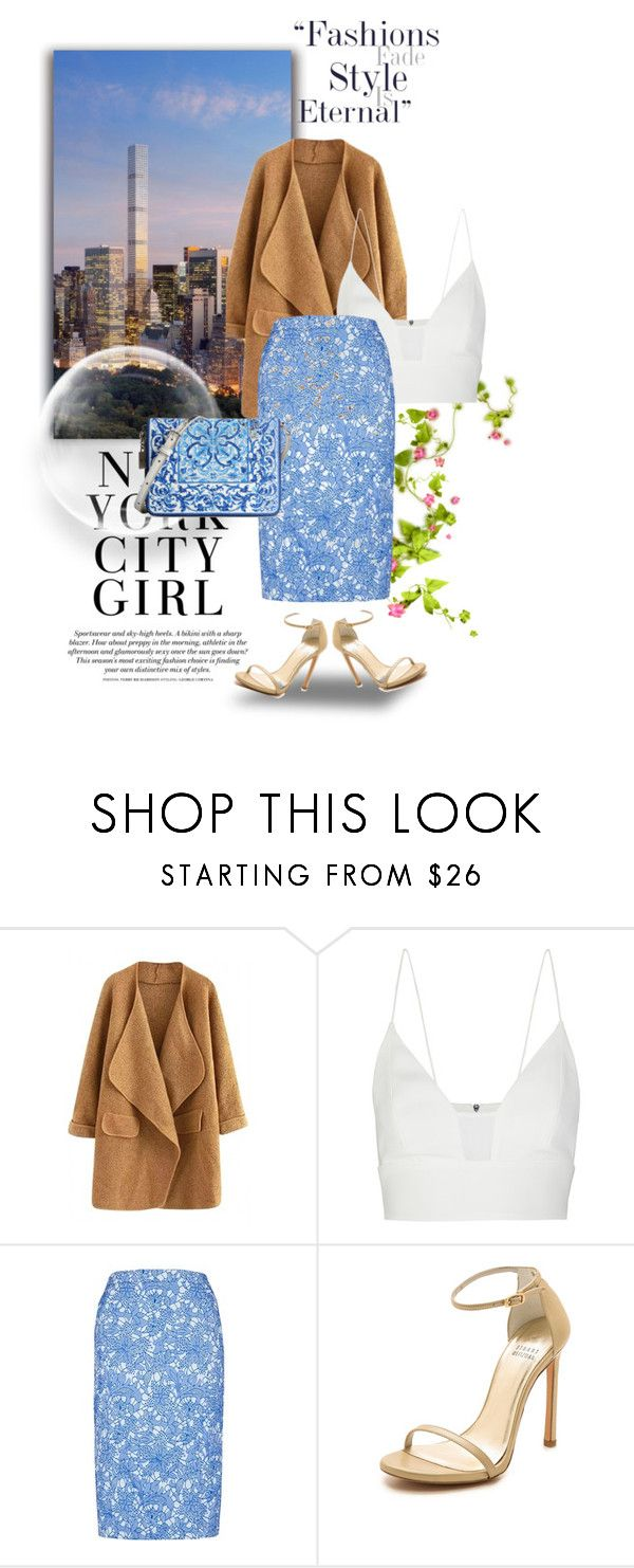 """NyC"" by any-dazaperez ❤ liked on Polyvore featuring Narciso Rodriguez, Stuart Weitzman, Dolce&Gabbana and H&M"