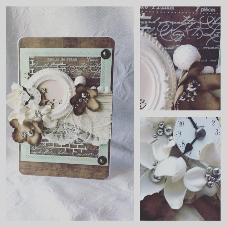 #card #create #blomsterbox #primamarketing #flowers #silverpearls