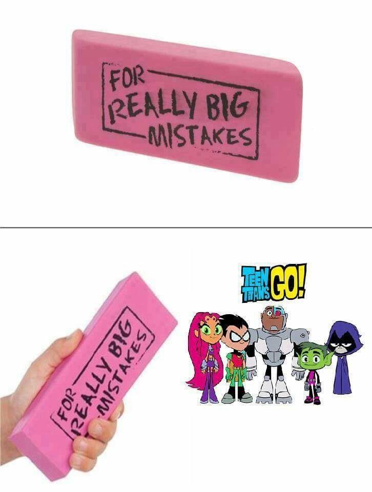 Jajajaja yo no tengo tantos problemas con teen titans Go! Pero definitivamente prefiero los originales u.u