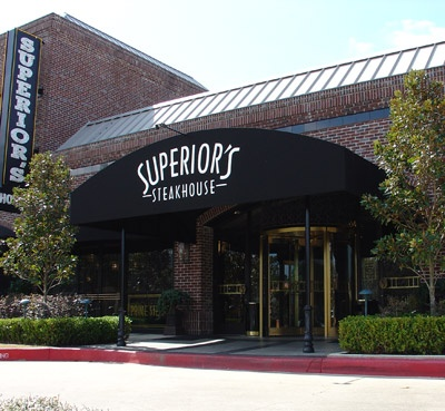 Superior's Steakhouse in Shreveport!