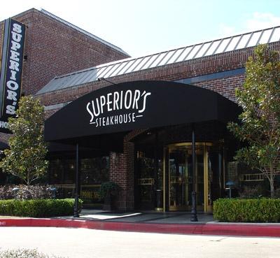 Superior's Steakhouse in Shreveport!
