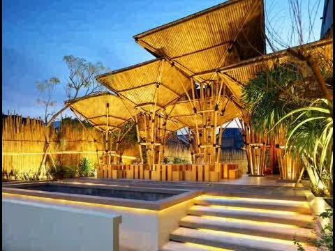 Bamboo House restaurant at Tanjung Duren - Jakarta, Indonesia.