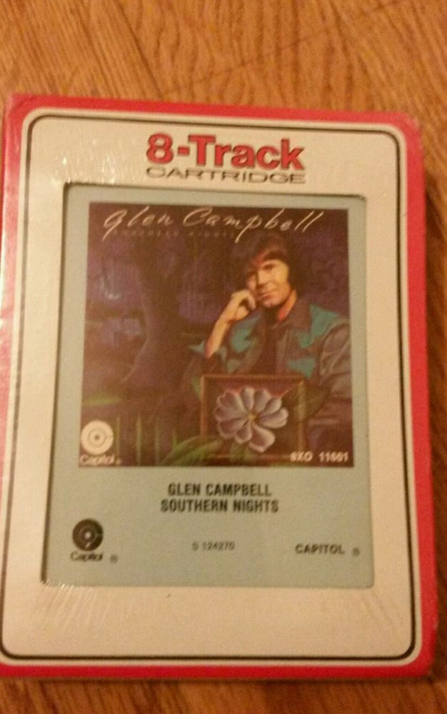 Glen Campbell SOUTHERN NIGHTS - 8 Track Tape Cartridge Vintage SEALED | Music, Cassettes | eBay!
