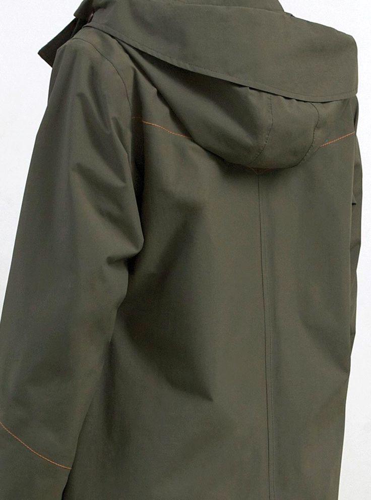 WATERDICHT Amsterdam Straincoat Urban, stylish raincoat Waterproof taped