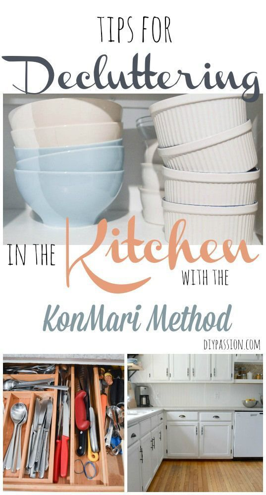 Decluttering The Kitchen | KonMari Week 7 #SparkingJoy - DIY Passion