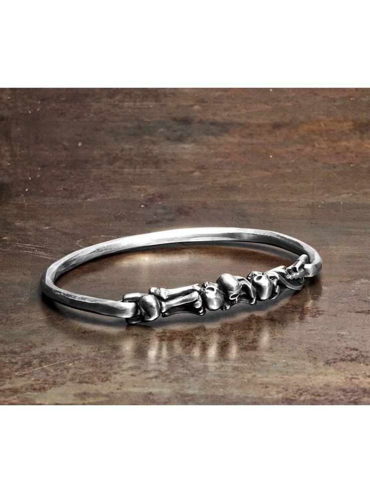 WERKSTATT:MÜNCHEN | Bones + Skulls Bracelet  Acquire www.fallow.com.au