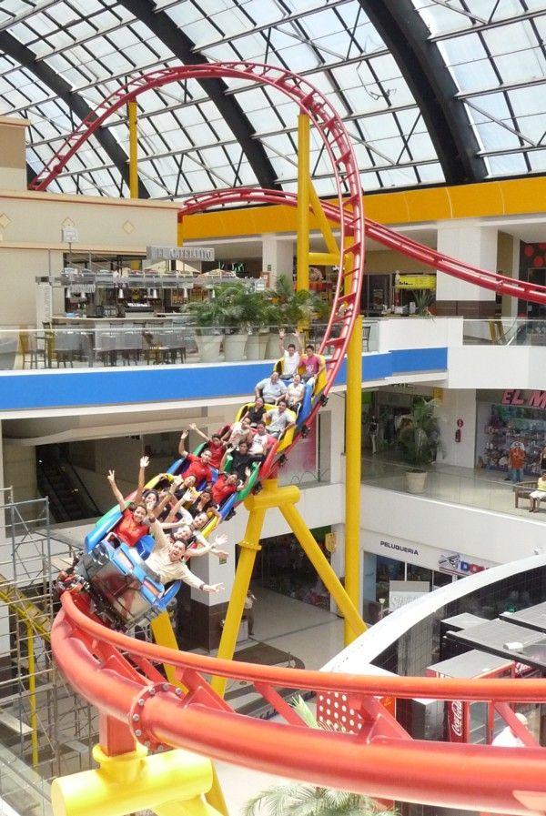 #Vekoma indoor #coaster #Guatemala