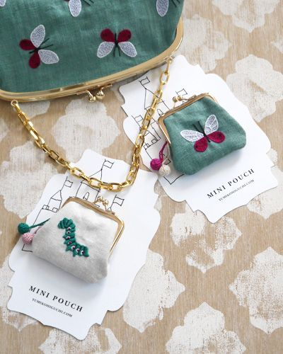 this blog is in japanese, but the embroidery she does is so amazing! this is such a cute idea, I need to start embroidering!