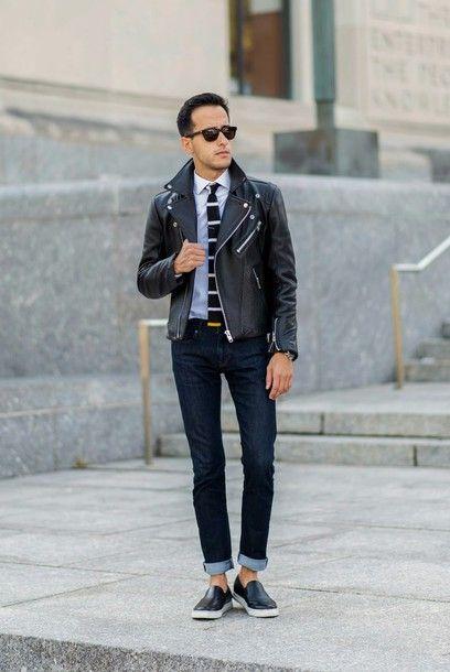 黒スリッポンスニーカーで頼れるかっこいいお兄系タイプのコーデ。参考にしたいスタイル・ファッションのアイデア。
