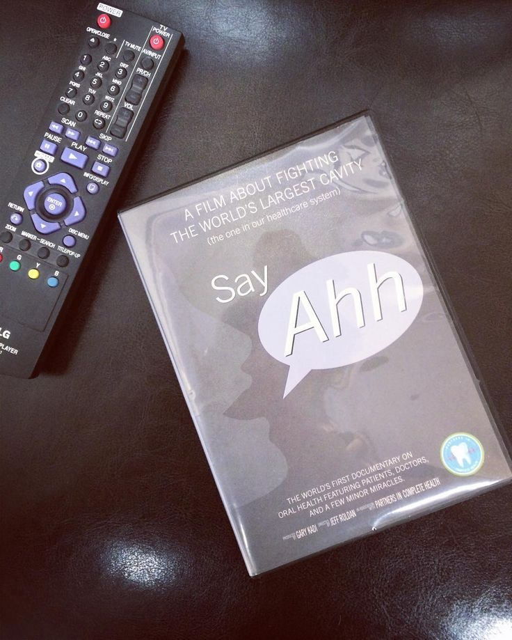 Say Ahhh the worlds first documentary on oral systemic