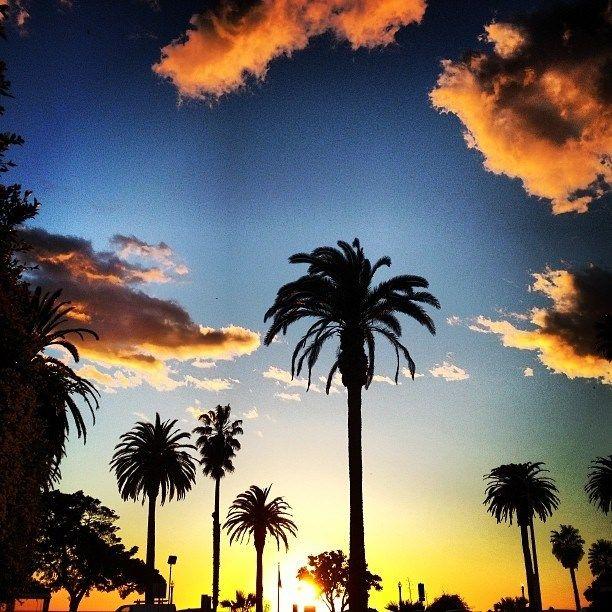 Sunset California style