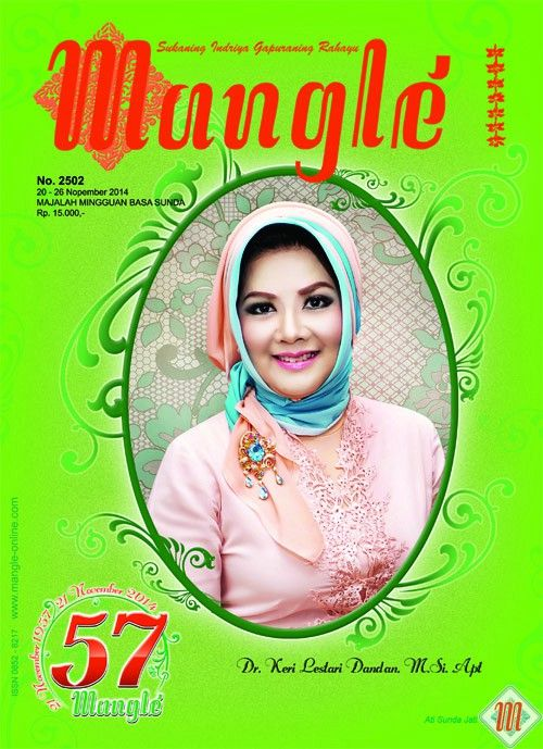 Mangle. Majalah Sunda. On Line