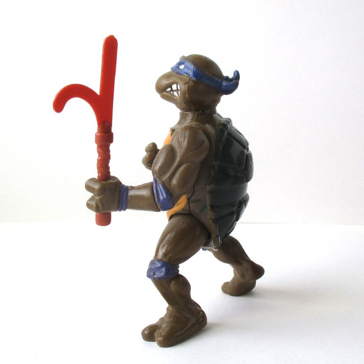 Donatello Action Figure, 1988, Teenage Mutant Ninja Turtles, TMNT by QuirkMuseum on Etsy