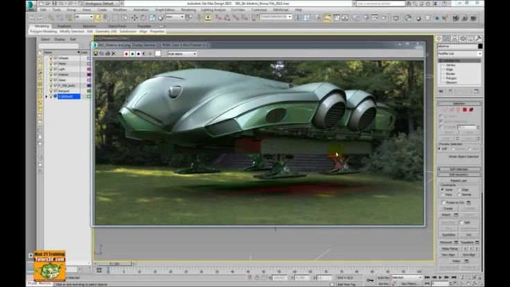 3ds max 2015 PhysX Mass Fx Cloth Presentazione