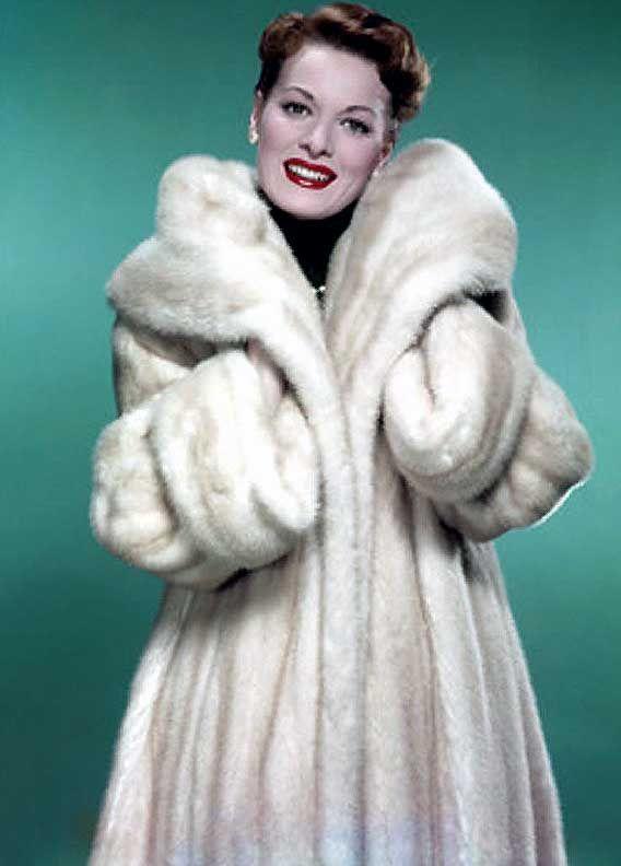 Fur Mink Coat