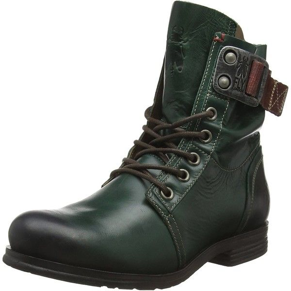 Fly London Women's Stay Boot ($203) ❤ liked on Polyvore featuring shoes, boots, fly london shoes, lace boots, adjustable shoes, lacy boots and combat shoes