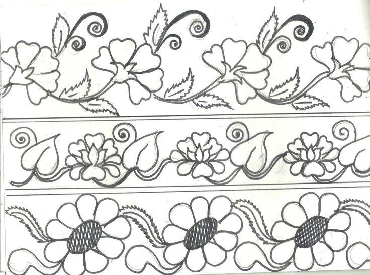scandanavian embroidery design motif - Google Search                                                                                                                                                      Más