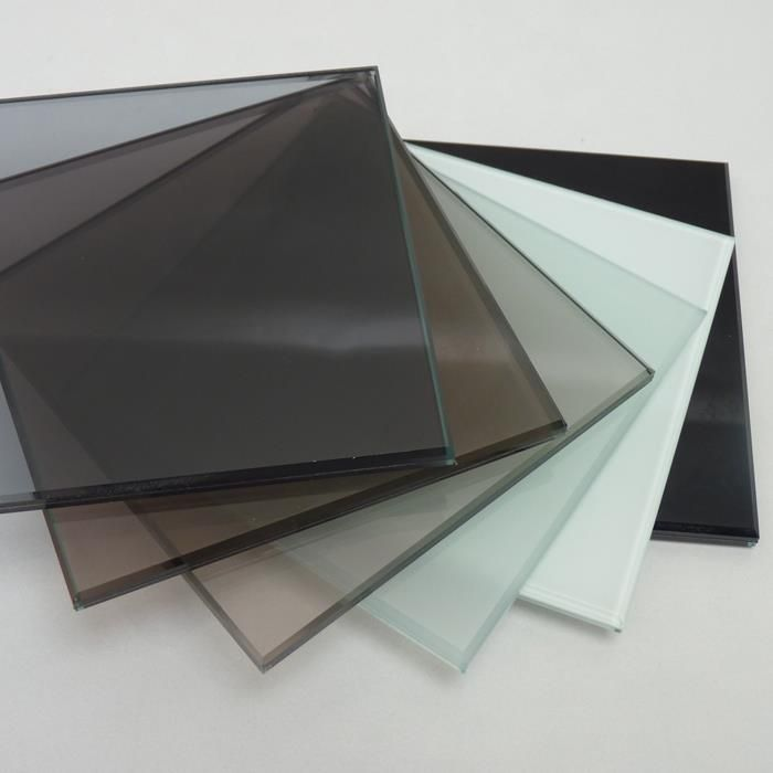 Tempered Price China Custom 8mm 10mm Sheet Frosted Tempered Glass Laminated Glass Tempered Glass Glass Roof Panels
