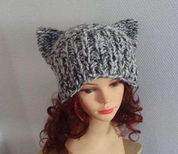 How To Knit Cat Ears On A Hat