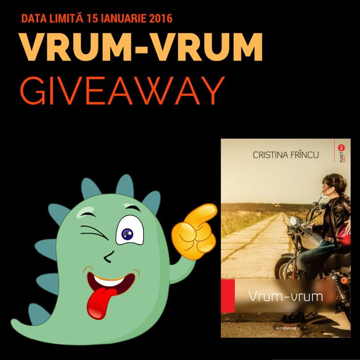 Vrum-vrum Giveaway pe Goodreads