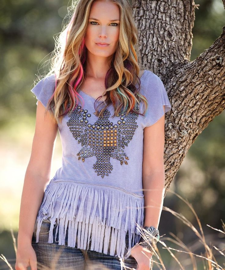 Double D Ranch Eagle Eye Tee via Bella Star Western Outfitters. Click on the image to see more!