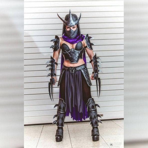 This Female Shredder Cosplay Is A Turtle Terminator