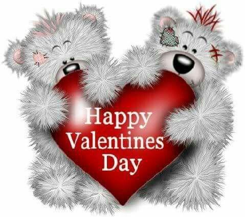 Happy Valentines Day bears
