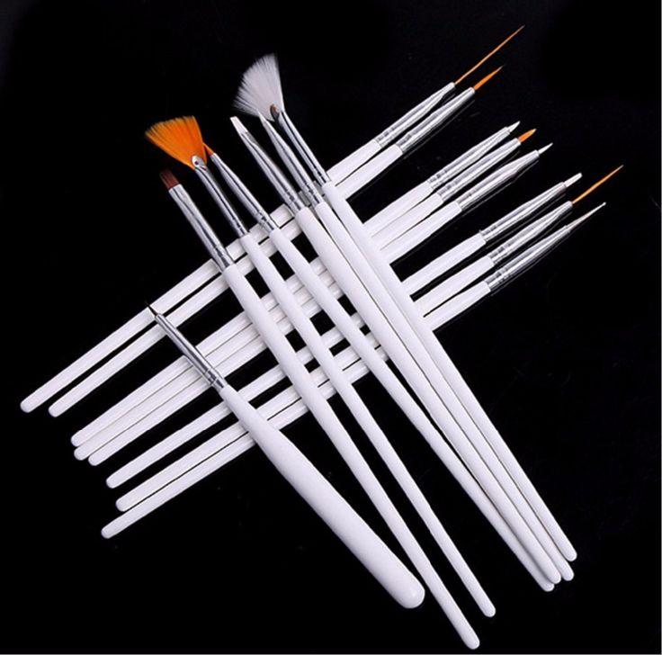 Best 25 nail equipment ideas on pinterest nail salon furniture nail art brushes set15pcs white decorations gel painting pen nail brush professional nail prinsesfo Images