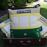 Melbourne Tram cushions. So awesome!