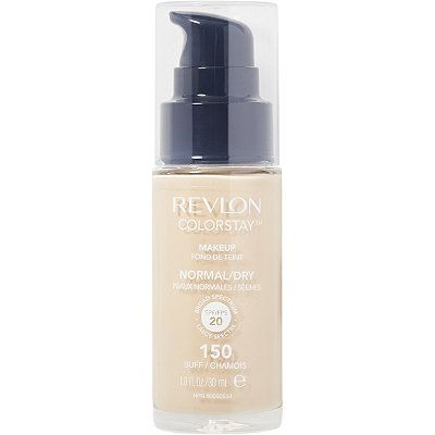Revlon ColorStay Makeup for Normal/Dry Skin SPF 15. Favorite of Kathleen Lights for dry skin. FYI: Sand Beige (comparable to NC 25).