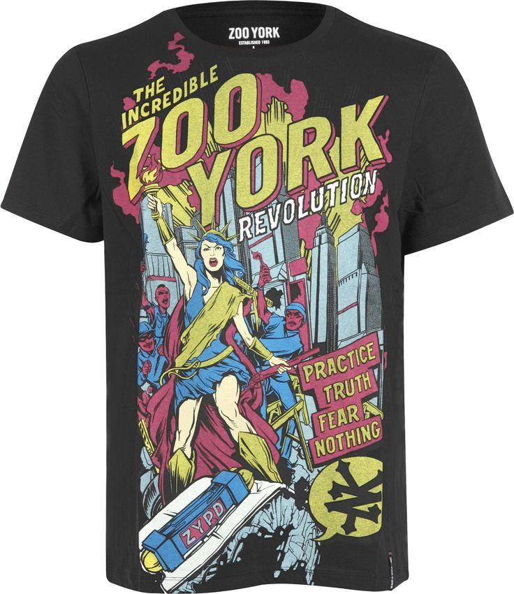 Koszulka męska ZOO YORK  http://cool-clothes.pl