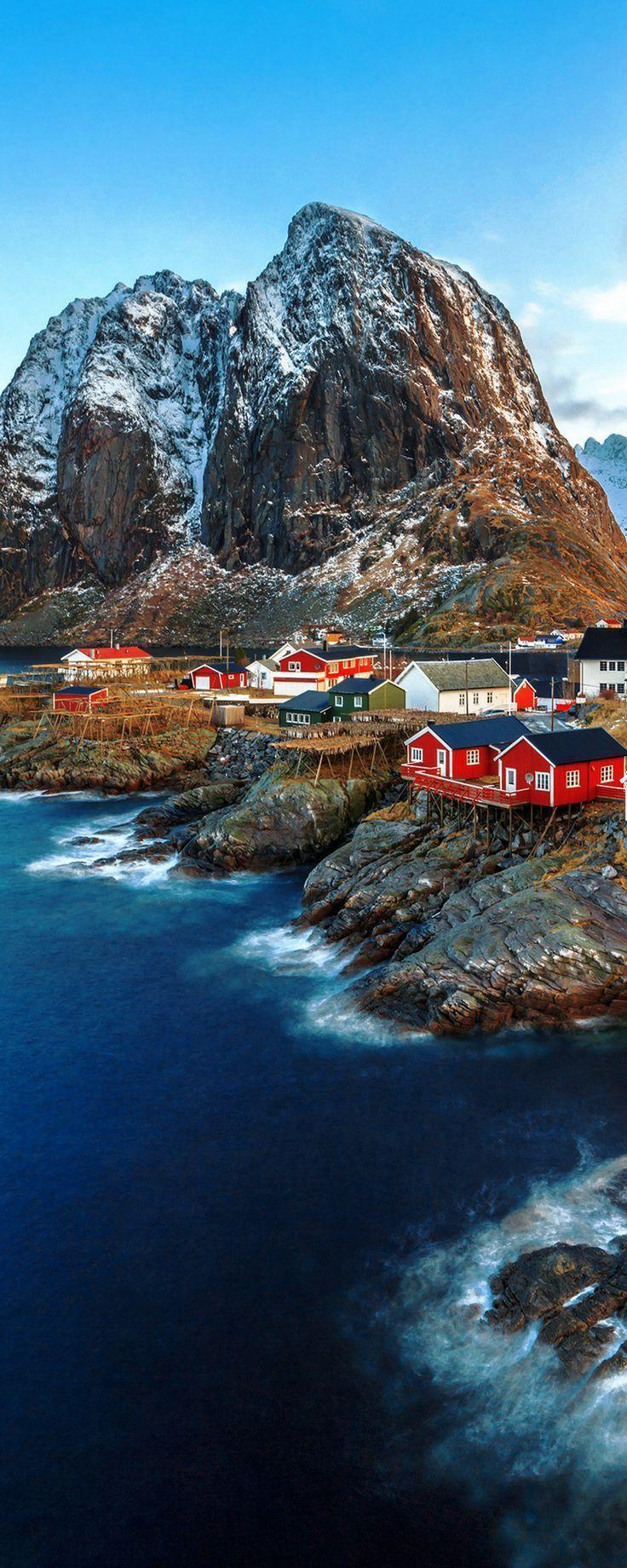 Reine, Lofoten-Inseln, Norwegen. Egal, ob Sie im S…