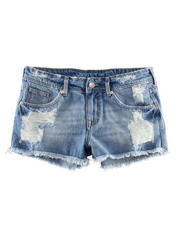 El short vaquero perfecto.... - Compras Elle - Moda Primavera Verano 2012 - Lo último en tendencias, glamour y celebrities - ELLE.ES
