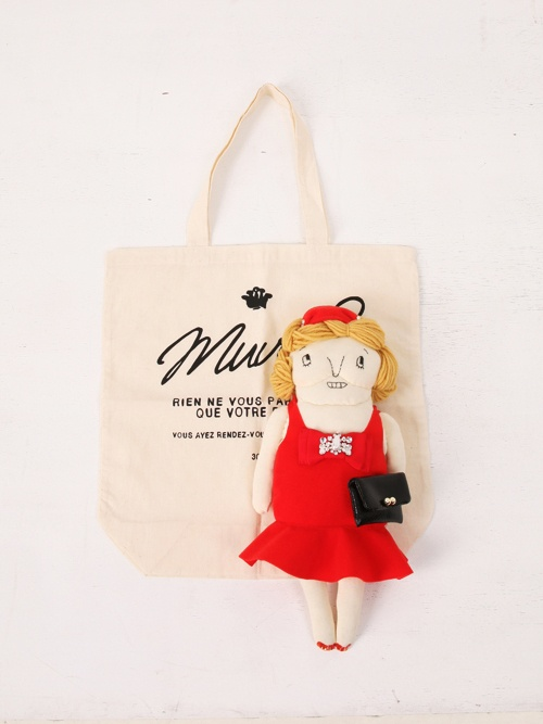 Rose, a potpourri-filled grandma doll by Muveil.