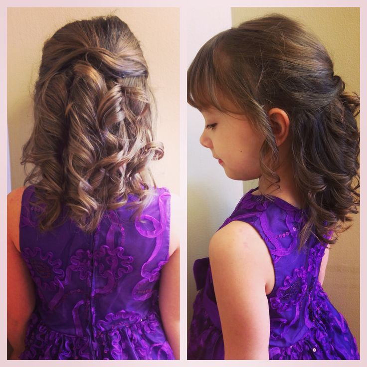 Child updo by Noelle