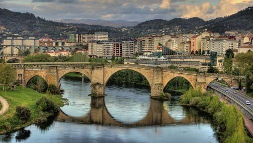 Puente de Orense, uno de los símbolos de la ciudad