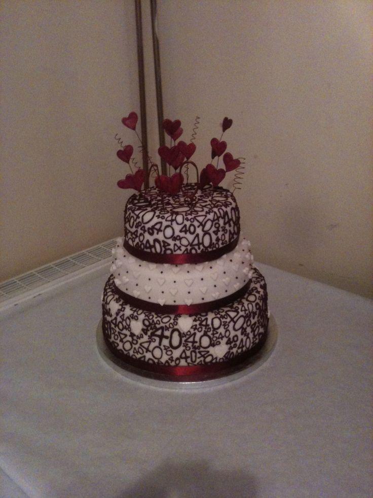 Ruby Wedding Cakes