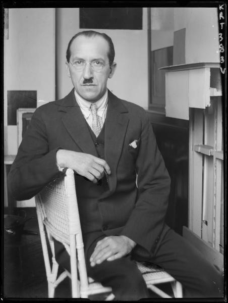 Piet Mondrian, Paris 1926 by André Kertész