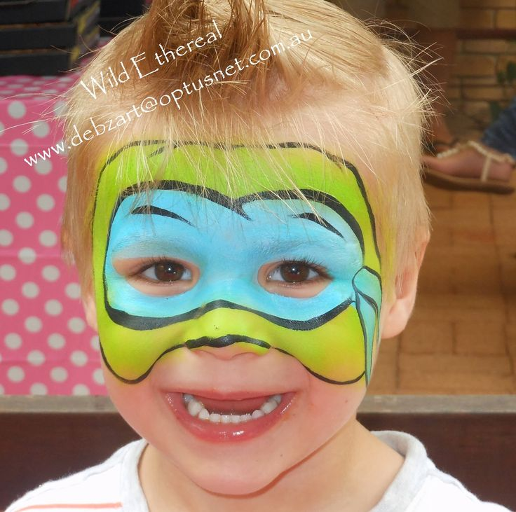 1000+ images about TMNT Face Painting on Pinterest | Paint ...