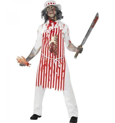 #Costume Il #Macellaio sanguinante #Halloween