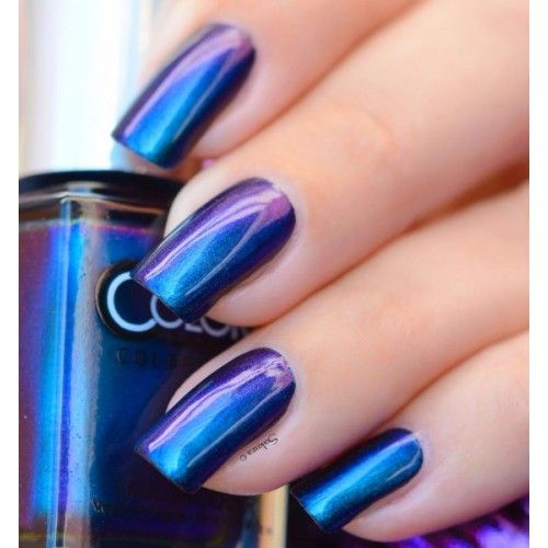 Color Club: ⭐ It's Raining Men ⭐ ... from the Oil Slick Collection