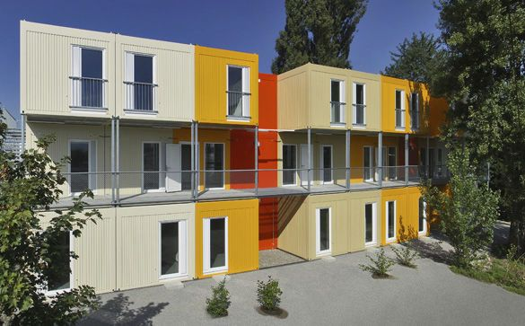 Edificio de modulares / prefabricado / de madera / moderno - ALHO Systembau GmbH