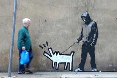 MOVEMENT blog: Banksy(バンクシー)の最新作、ロンドンで見つかる